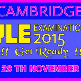 Cambridge YLE exams Sri Lanka