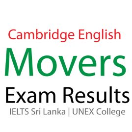 YLE MOVERS EXAM Results