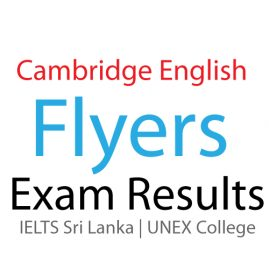 YLE  FLYERS EXAM Results