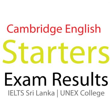 YLE  STARTERS EXAM Results