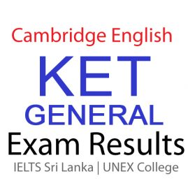 KET GENERAL EXAM RESULTS 2015