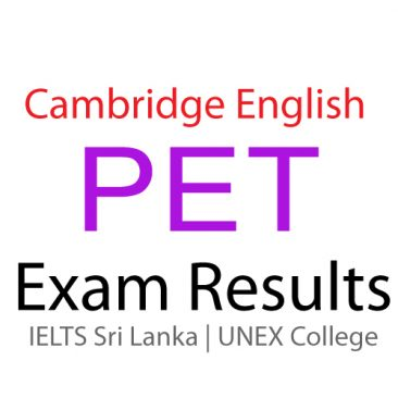 ESOL PET EXAM RESULTS 2015